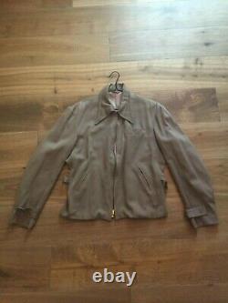 1950s vintage western gabardine jacket EARL-GLO USA rockabilly ricky 1940s