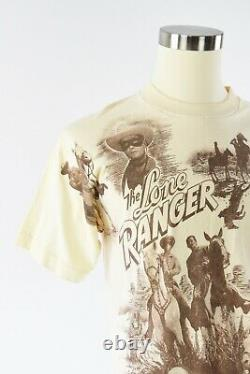 1992 Vintage Marlin Tease Lone Ranger T Shirt Graphic Print T Shirt Double Sided
