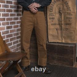 2020 Bronson Duck Canvas Men's Pants Vintage Nevada Gold Rush Western Trousers