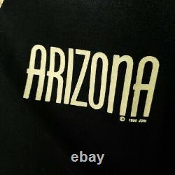 Arizona Cowboy T Shirt Vintage 90s All Over Print Made In USA Large Size SAMPLE