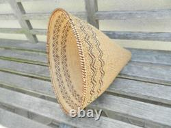 Beautiful Large Antique Western Mono Burden Basket, Great Condition, Reno Estate