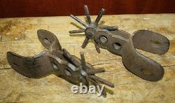 Cast Iron Large SPURS Rodeo Cowboy Western Rustic Home Decor Texas Spur Boots