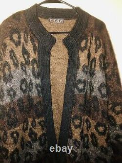 ESCADA AUTHENTIC VINTAGE Made In Western Germany Superkid-Mohair Sweater Size L