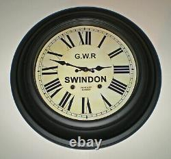 Great Western Railway, GWR Victorian Large Station Clock, Swindon Station