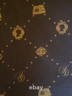 J-Dilla Vintage Stussy Top Black And Gold/Bronze Size Large