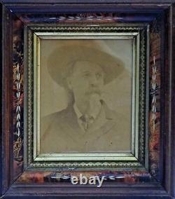 LARGE 1 of a Kind WILLIAM BUFFALO BILL CODY ORIGINAL ALBUMEN PHOTO CIRCA 1880s
