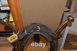 Large Horse Collar Harness Mirror With Wood Hames, Rustic, Western Decor