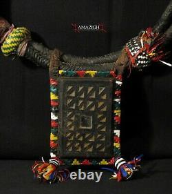 Large Sahrawi Talismanic Necklace Kitab Western Sahara Rare Item