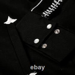 Mens Rockmount Vintage Western Gabardine Bolero Jacket