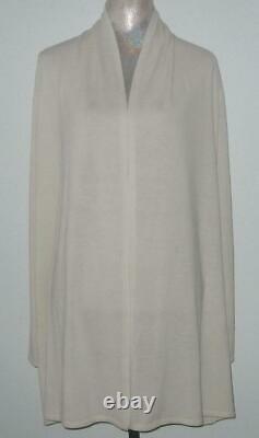 NWT Elie Tahari Cashmere Wool Blend ARDENIA Cardigan Sweater Women L MSRP$298