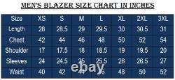 Noora Men Suede Leather Blazer Soft High Quality Genuine Lambskin Jacket Coat QD