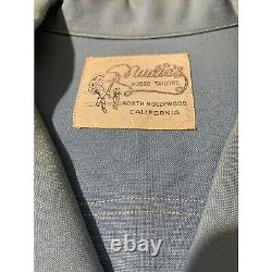 Nudies Rodeo Tailers Robert Taylor Lounge Shirt Vintage Original Size Large