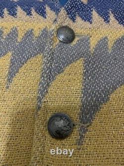 RRL Ralph Lauren vest indian head aztec chimayo south western vintage size large