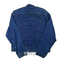 Rare Vtg 80's WRANGLER No Fault Denims SANFOR-SET Jacket MADE in USA Large