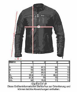 Redbridge Herren Jacke Kunst- Lederjacke Schwarz Bikerjacke Übergangsjacke M6013