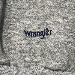 True Vintage Wrangler Sleeveless Sweater Top Large Armhole Snap Side XL RARE 80s