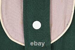 VTG 50s Rockabilly PRIOR Western Gabardine Rayon Cowboy Shirt USA Mens Large