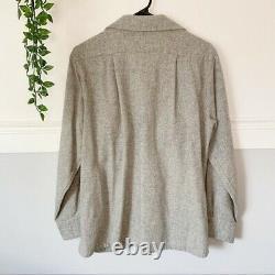 Vintage 1950s Levis Wool Button Down Shirt