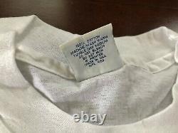 Vintage Ds Levi's Western Denim Jeans Gold Rush T Shirt L 90s Tee Single Stitch