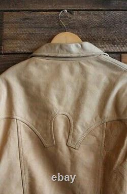Vintage Genuine Leather Western Jacket Men's L