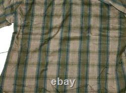 Vintage Penneys Towncraft Plus Penn-Prest Button Up Shirt Plaid Men's Large NWOT