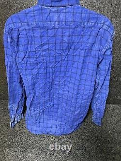 Vintage Plaid Flannel Shirts Saugatuck Dry Goods Co Mens Lot of 5 Sz L