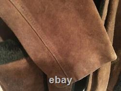 Vintage Western Suede Leather Jacket. Large. RARE
