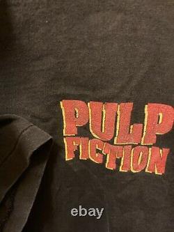 Vintage t shirt rare 90s pulp fiction movie promo 1994 large