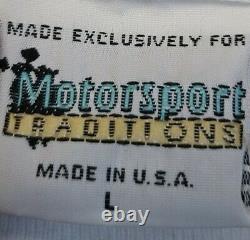 Vtg 90s Nascar Racing AOP T Shirt Mens Size L Darrell Waltrip Western Auto Parts